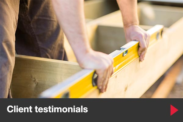Testimonials for Barber Building Services