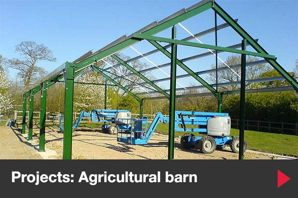 Agricultural barn builders