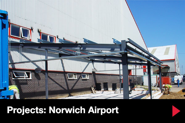 KLM UK building project at Norwich Airport